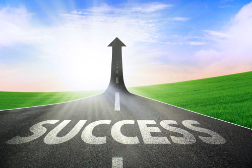 success_road
